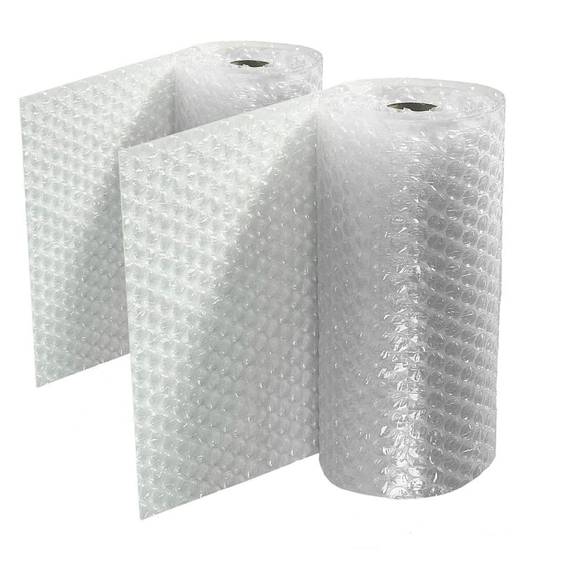Eco-friendly protective bubble cushioning wrap on roll