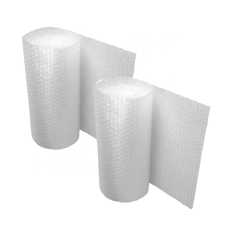 Customized 100% bubble film biodegradable Compostable bubble film PLA Air cushioned bubble film wrapped roll