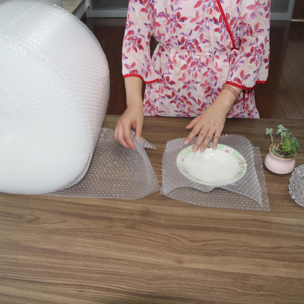 Amazon hot selling 100% biodegradable plastic film anti shock bubble film compostable plastic wrap roll
