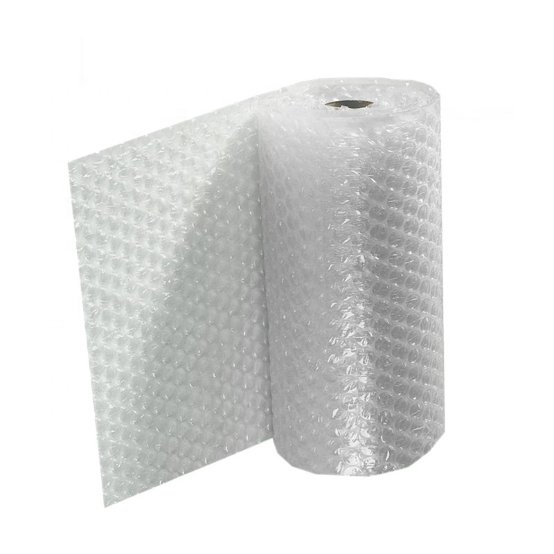 100% Compostable Bubble Film Inflatable Plastic Air Filled Wrap Bags Packaging Film Air Biodegradable Bubble Film Wrap