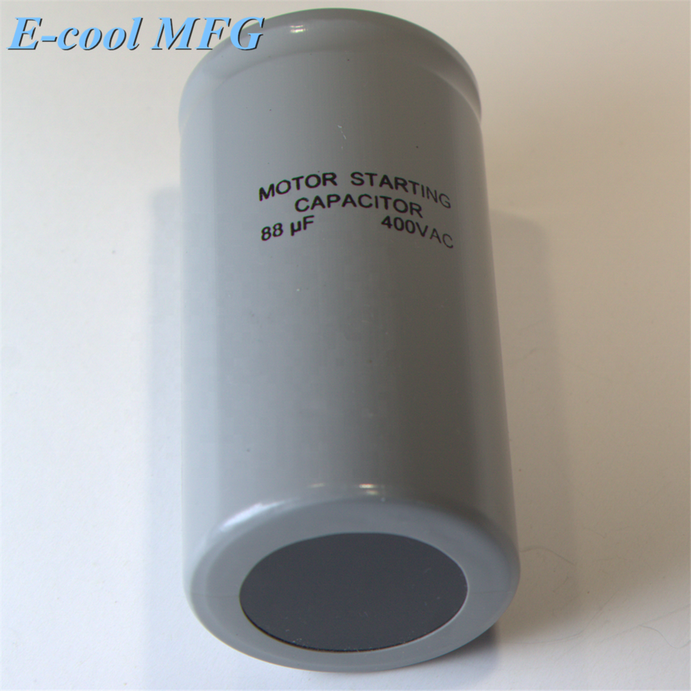 CD60 330VAC Start Capacitor for Compressor Motor Start Capacitor for Heat Pumps Air Conditioner