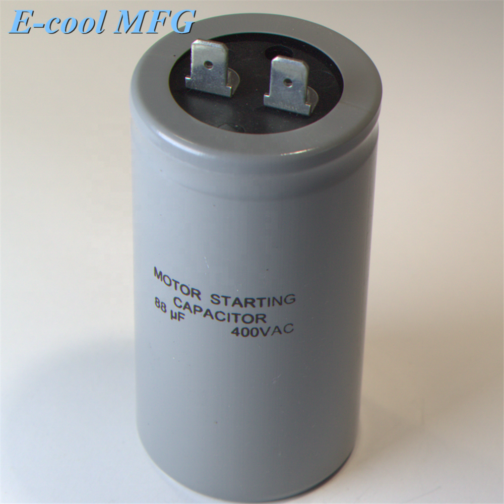 High quality AC / Motor Application capacitor 50uf motor starter CD60a