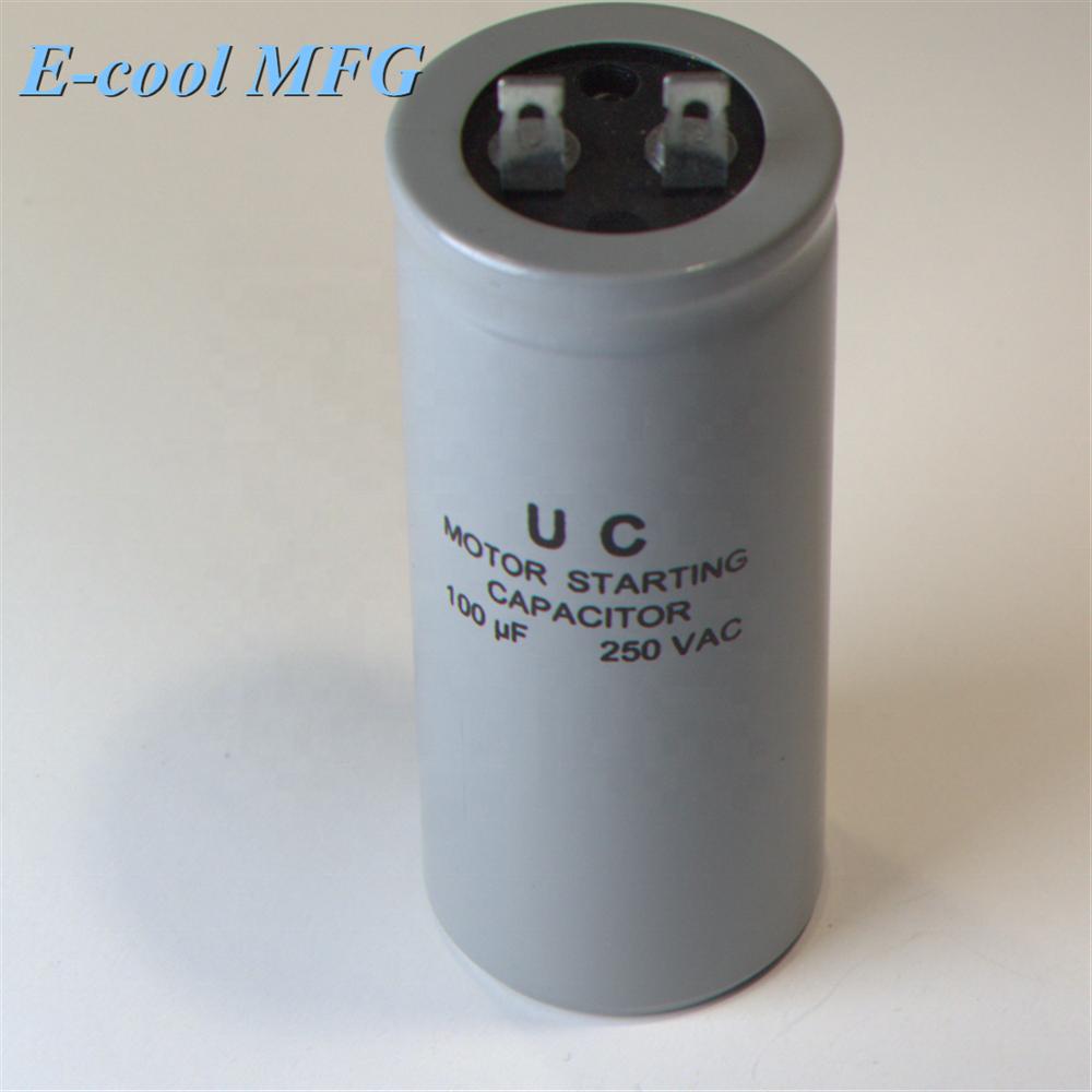 start 500 mfd cd60a ac motor capacitor