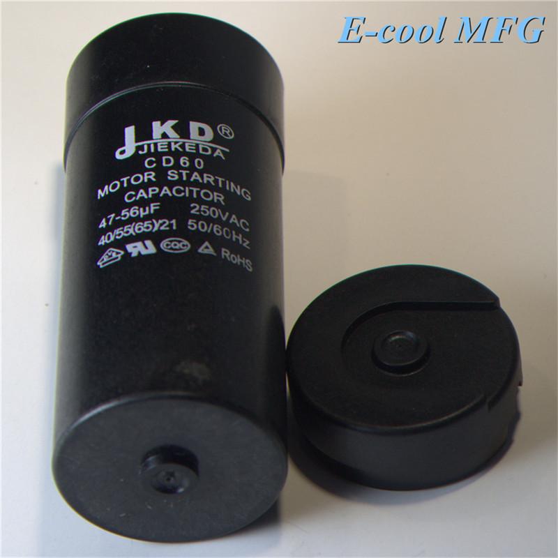 CD60B run soft start capacitor