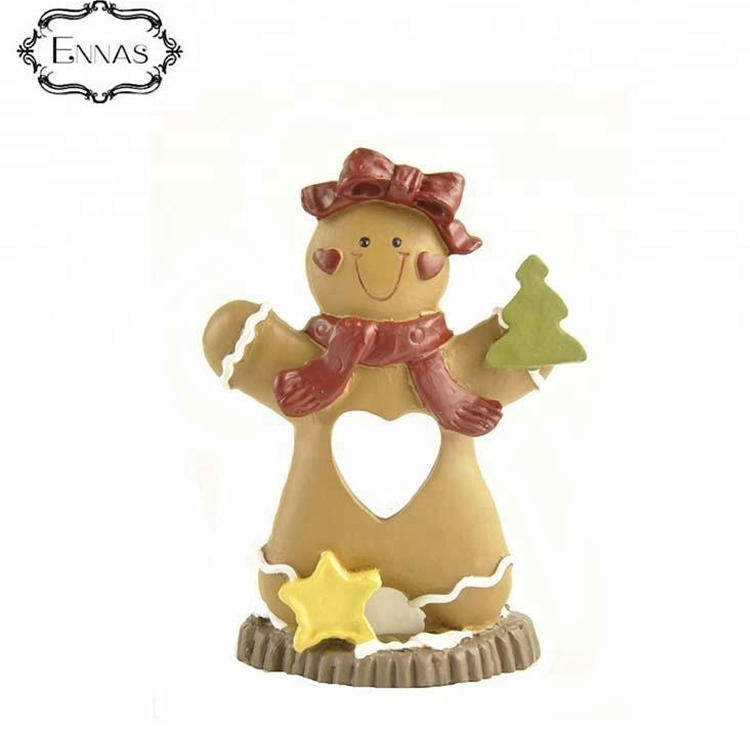 High quality lady christmas ornaments tree decorations tabletop figurine