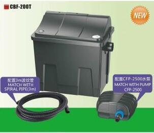 Pond Bio Filter Cbf-200t with Ce Approved