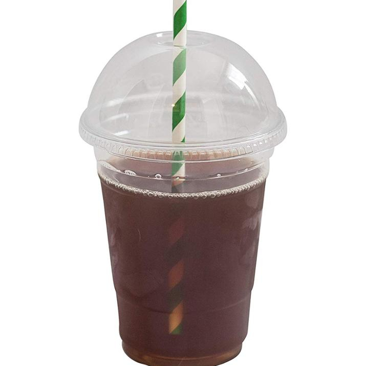 100% Eco Non toxic Compostable, 6 oz, Clear Ingeo Cold Cups