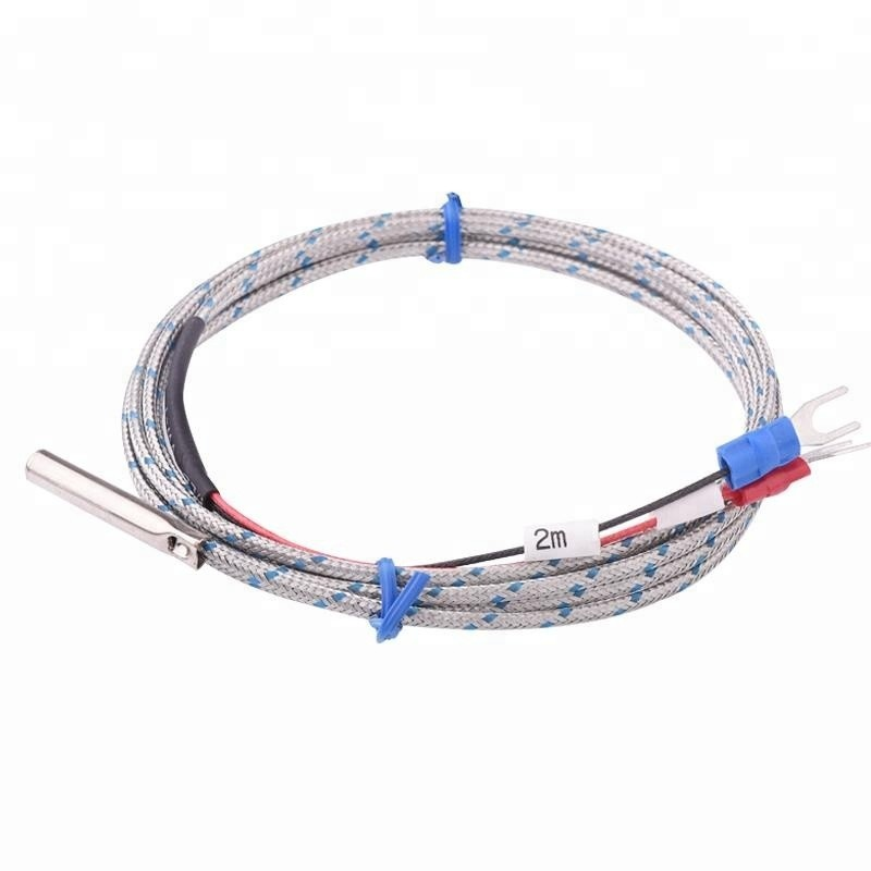WRN-035 K Type Thermocouple with Stainless shielding Cable reach to 500 Degree
