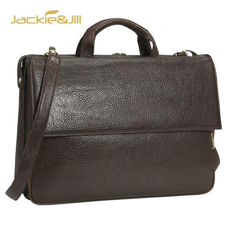 GF-J625 2020trend genuineleather shoulder briefcase bag for men
