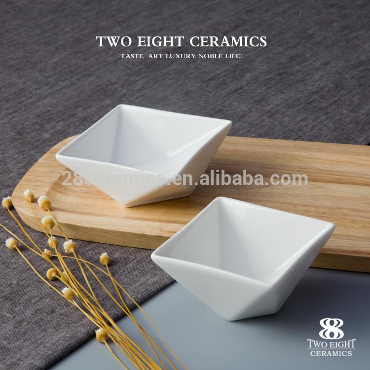 Wholesale dinner set ceramics china sauce dish restaurant & hotel tableware