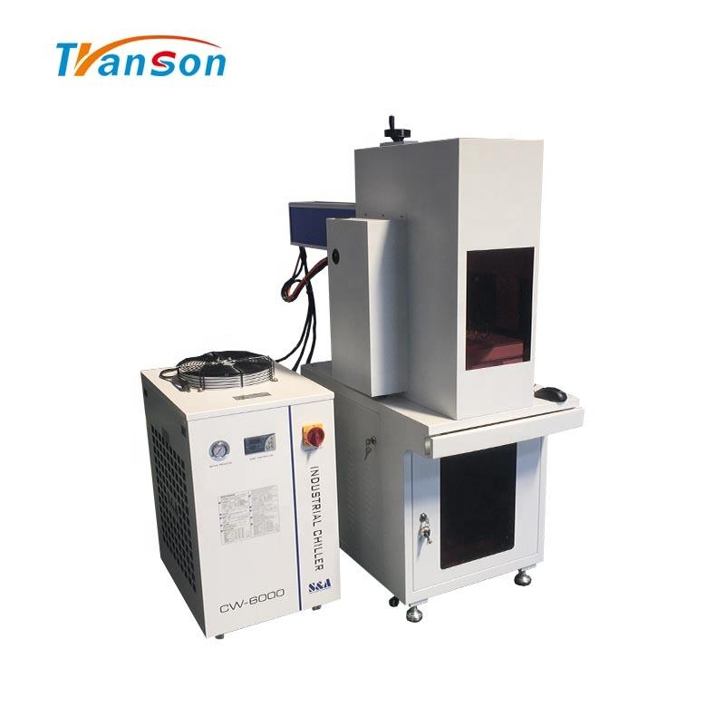 Coherent 100W Coating Material Mark CO2 Laser Marking Engraving Machine For Mugs Wood Plastic Paper Leather