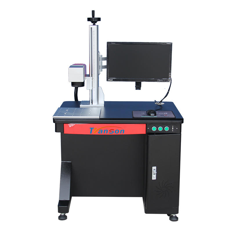 Raycus 20W Desktop Fiber Laser Marking Machine With Win10 Computer and Display