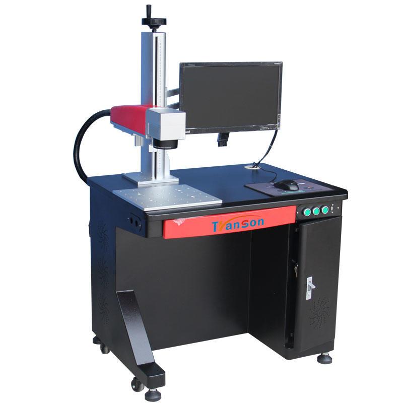 hot sale 20W MOPA JPT M1 Fiber Laser Marking Machine for keypad