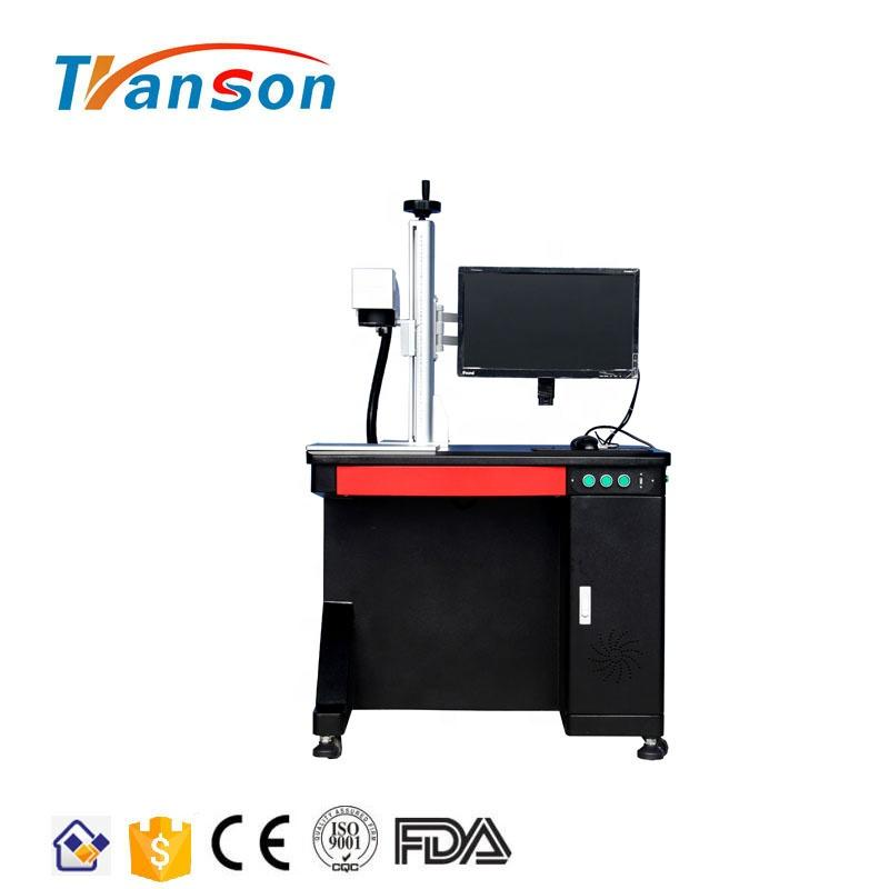 20W JPT M7 Series MOPA Fiber laser Marking Machine Desktop Type for Colourful Mark on Stainless Steel
