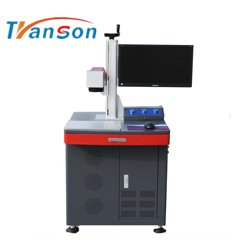 20W Fiber Laser Marking Machine Desktop Type New Design