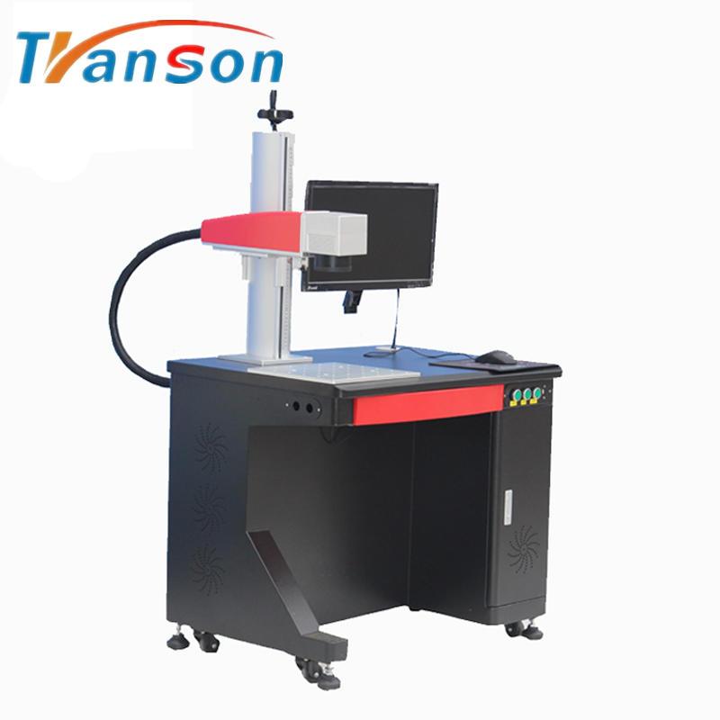 120w JPT High Power MOPA Fiber laser Marking Machine Desktop Type for Colourful Mark on Metal