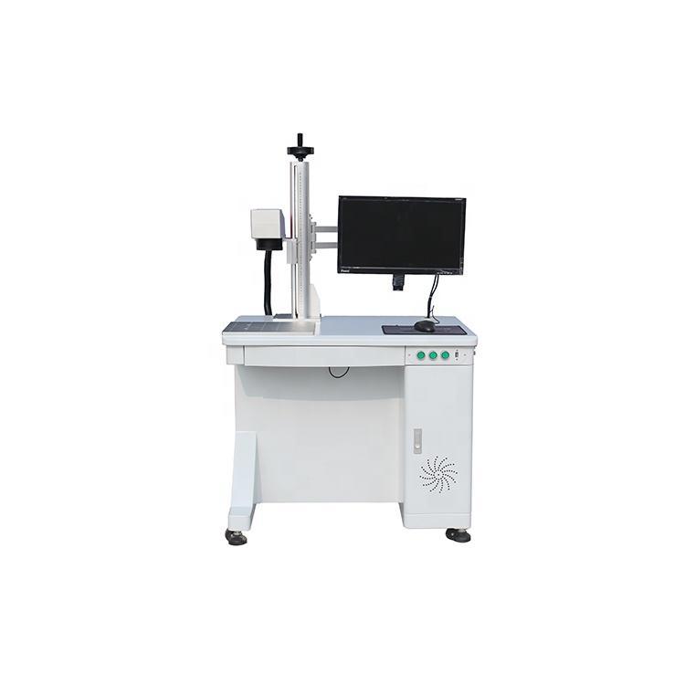 JPT M7 Series 60w MOPA Fiber laser Marking Machine Desktop Type for Colourful Mark on Steel