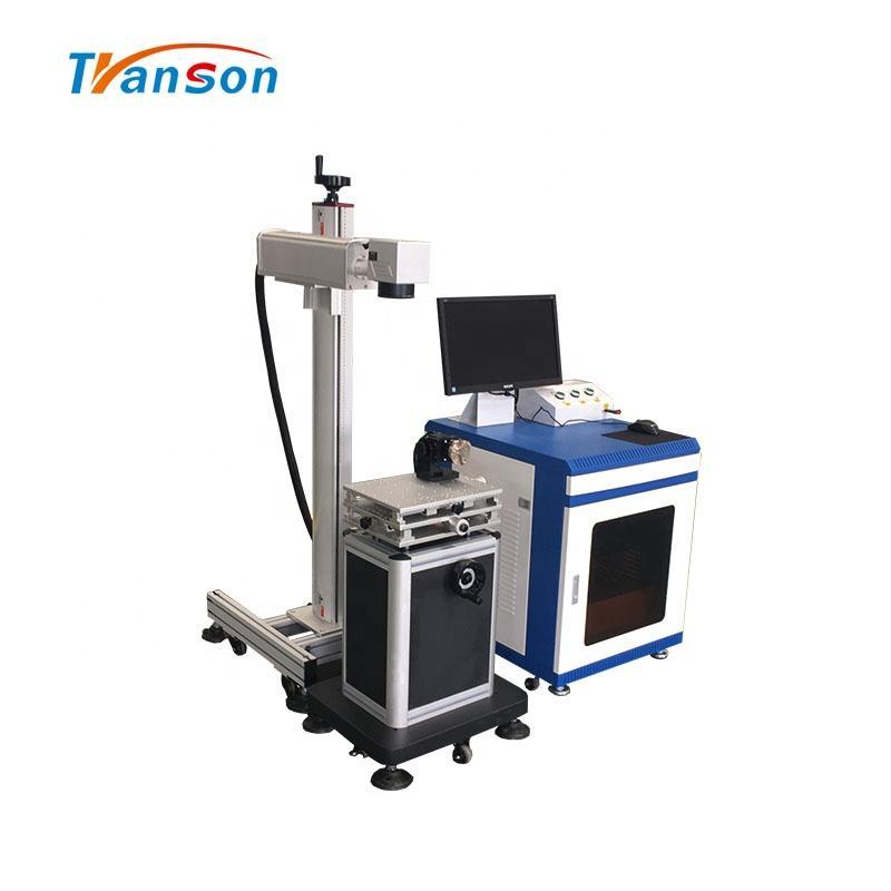 Desktop Fiber Laser Marking Machine Split 30W Lazer For Plastic Metal