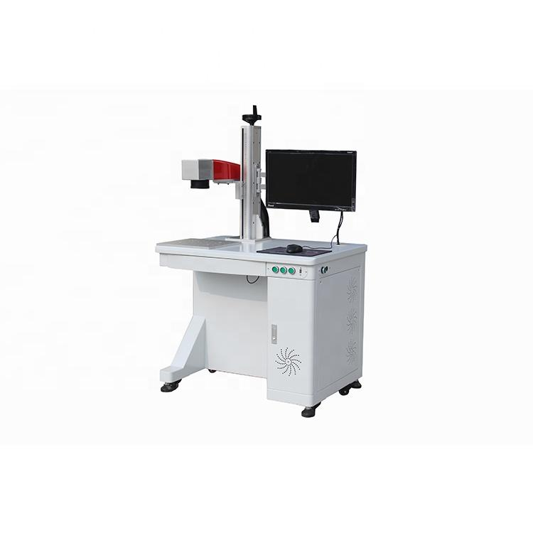 JPT E Series 20W MOPA Fiber Laser Marking Machine Desktop Type for Metal Silver Steel Aluminum Gold Bronze Affordable