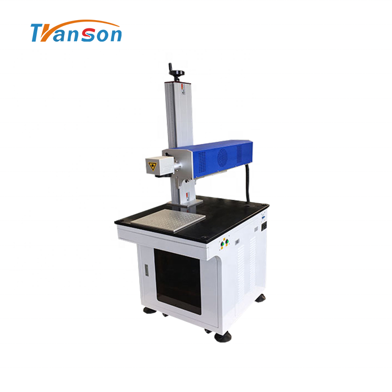 50W Desktop Laser Marking Machine CO2 Type Metal Tube Marking on Nonmetal