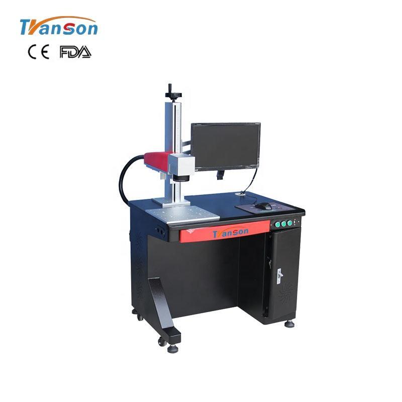 Manufacturing Plant Fiber Laser 50W Cutter Diameter Engraving Marking Machine