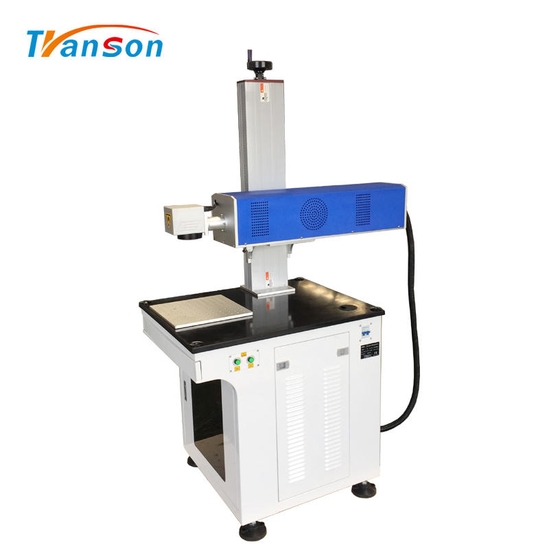 Coherent 30WCO2 RF Laser Marking Machine Desktop for Nonmetal