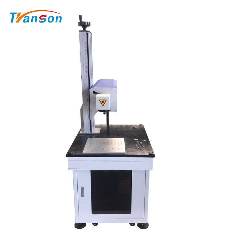 Davi 50WCO2 RF Laser Marking Machine Desktop for Cutting Paper Leather