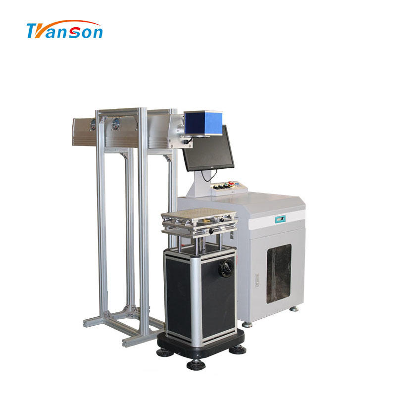 High Power Davi 150W CO2 Rf Tube Laser Marking Machine