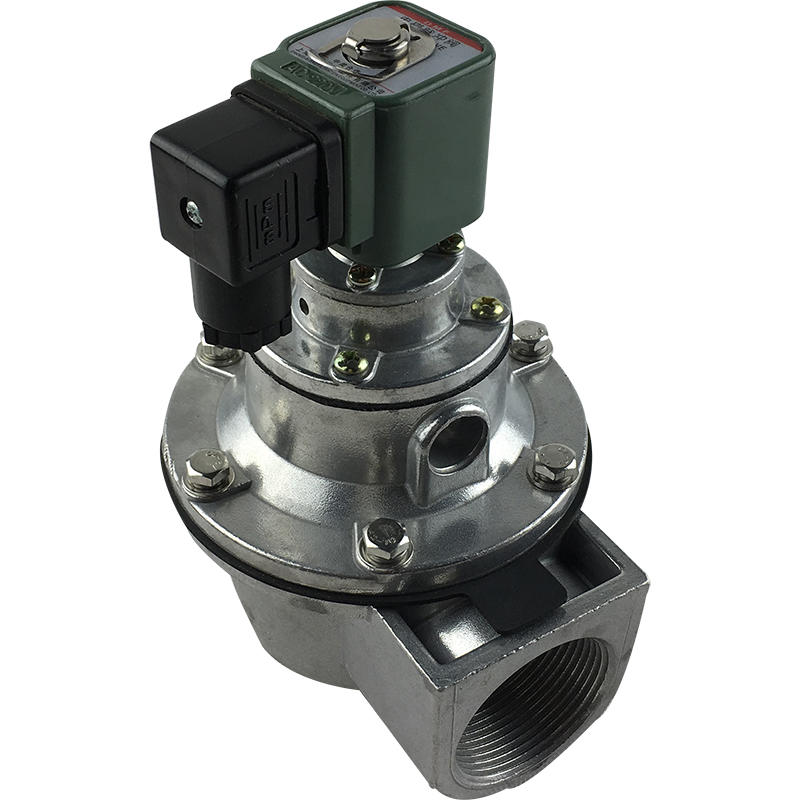 DMF-Z-40S Medium Temperature 1- 1/2inch Pulse Dust Collector Aluminum Pulse Solenoid Valve