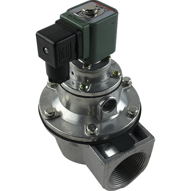 DMF-Z-40S Medium Temperature 1- 1/2inch Pulse Dust Collector Aluminum Pulse Solenoid Valve