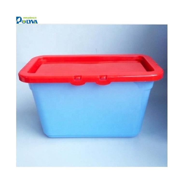 high capacity plastic box for packing laundry pods