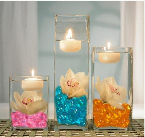 Aqua gems water aqua beads for planting and gardening,water beads with candle centerpieces