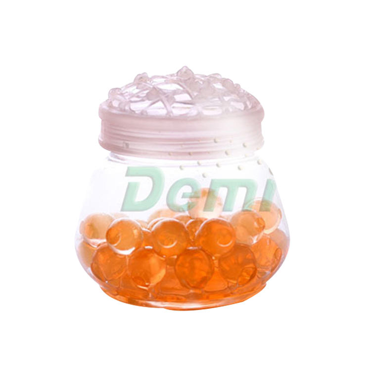 Clear air Guaranteed Quality Unique Air Freshener Gel Water Beads , Round Crystal Soil Beads