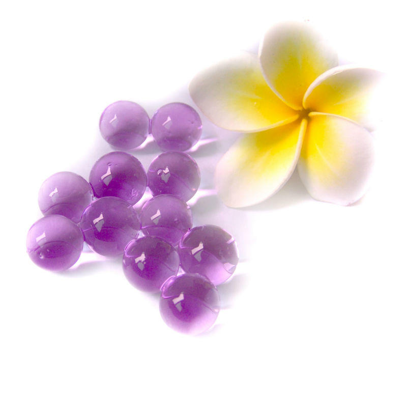 Pearl shape polymer gel florist water beads