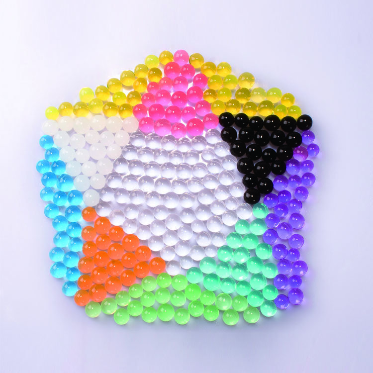 Wholesale Unscented Rainbow Mix Crystal Gel Water Beads