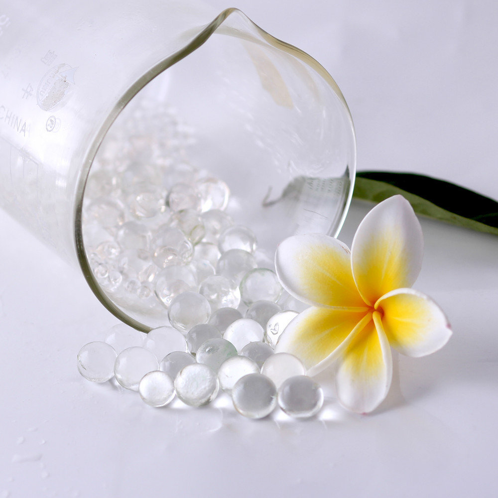 Eco-friendly, highly absorbent polymer, 100% non-toxic hydrogel beads for household air fresheners