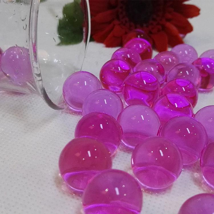 Pearl Shape Aroma Beads Air Freshener Water Absorbing Polymer Balls Gel Balls That Growing In Water