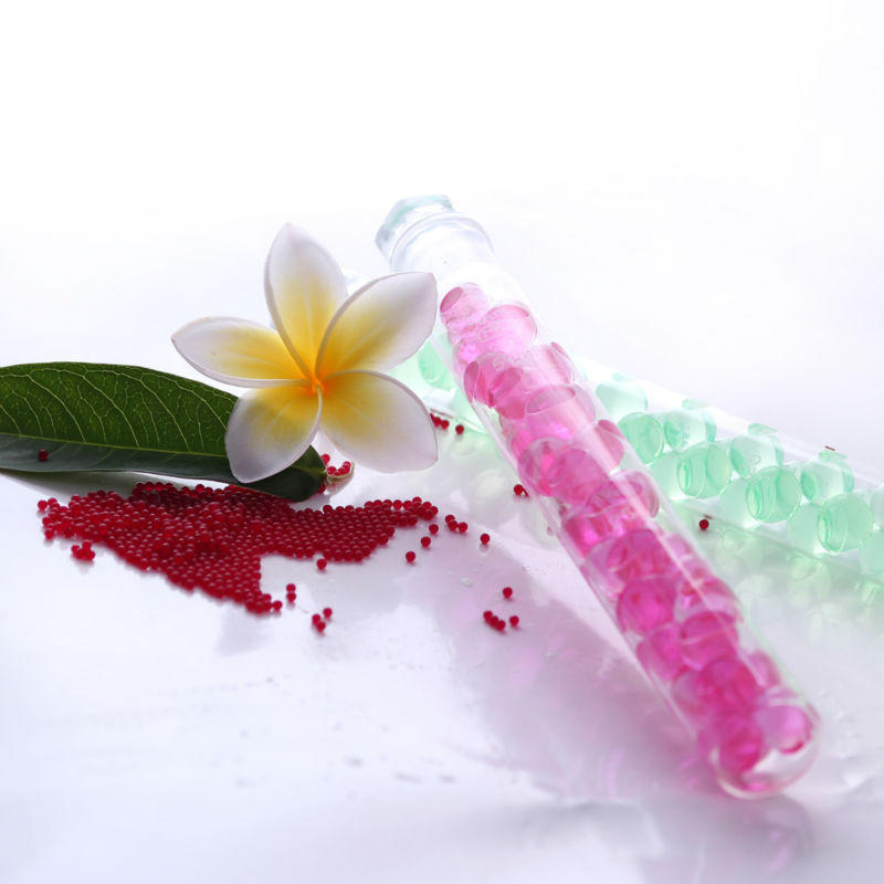 Clear air 20pcs/Bag Transparent Magic Water Beads , Water Absorbing Beads For Christmas Decoration