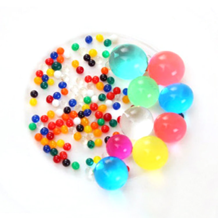 Factory Directly Wholesale Pearl Shaped Polymer Hydrogel Gel Water Beads for Plants