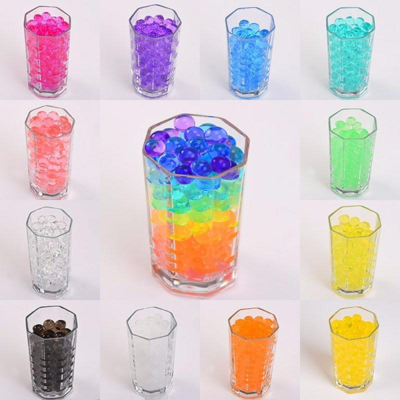 New Design High Quality Biodegradable Glow Water Beads Crystal Mud for Air Freshener