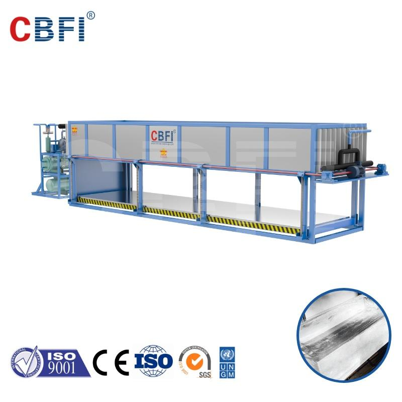 CBFI top quality direct cooling ice block machine new technology 20t directly evaporated making without salt water
