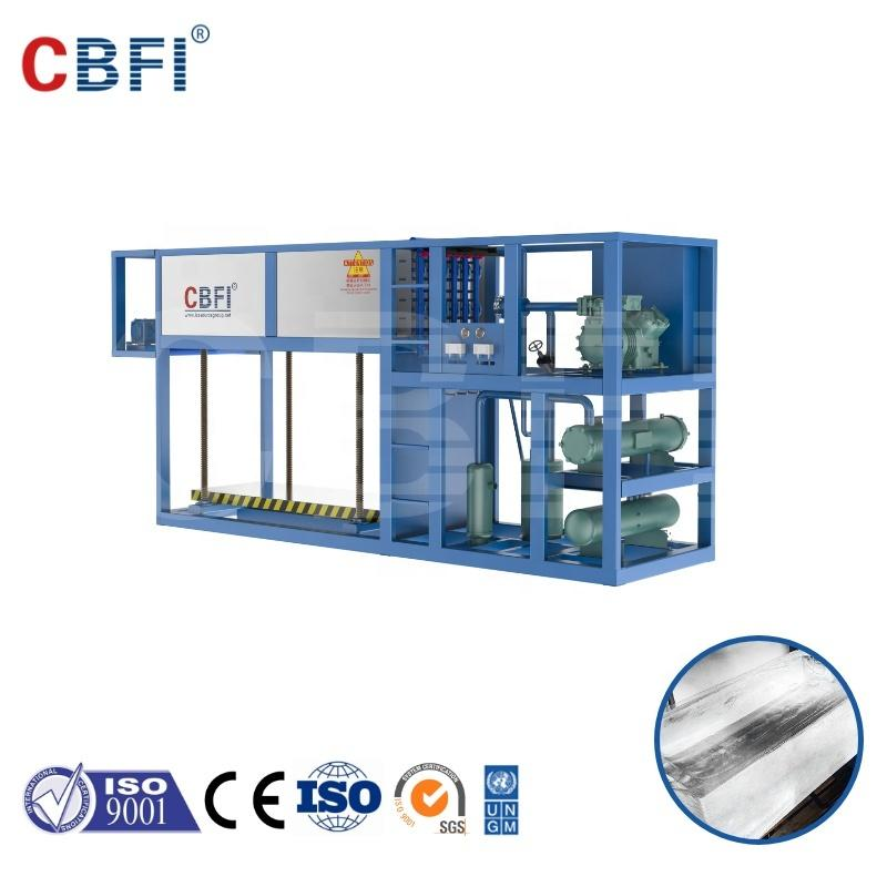 CBFI 1000kg/day Direct Cooling Block Ice Machine ABI10