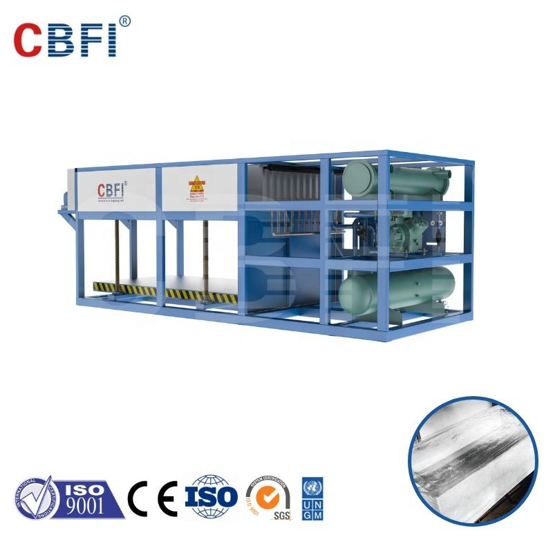 5 Tons Direct Cooling Block Ice Machine ABI50 for fishery and human consumption