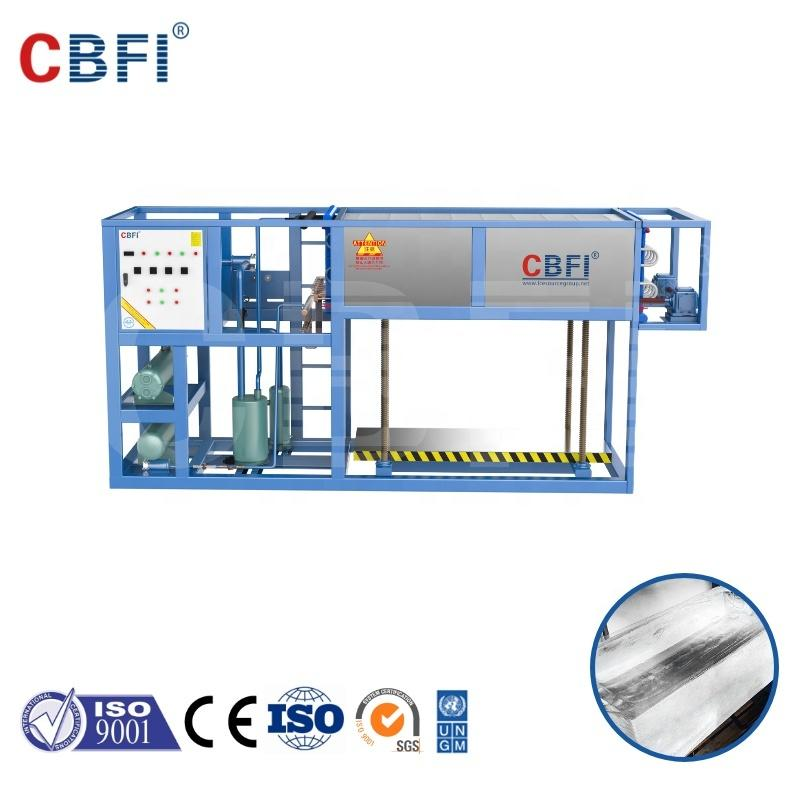 CBFI 1000kg/day Direct Cooling Block Ice Machine ABI10