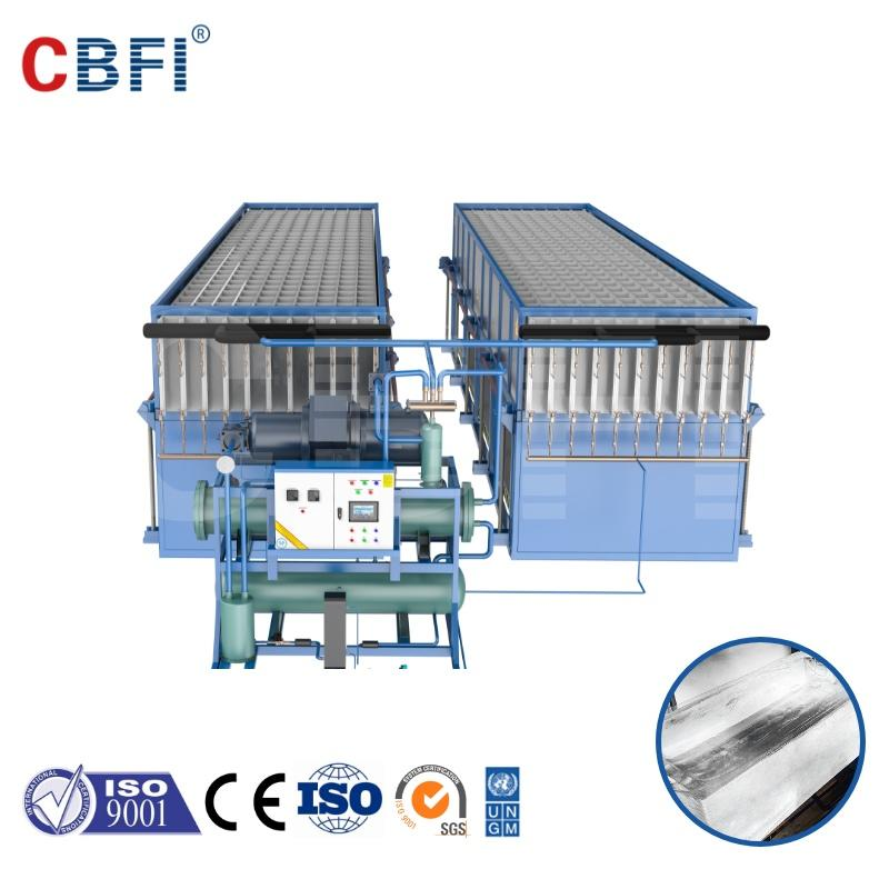 CBFI directly cooling ice block machine making