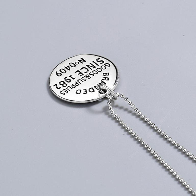 Personalize Online Celebrity Hipster Retro Hip Hop Instagram Trend Accessories Necklace
