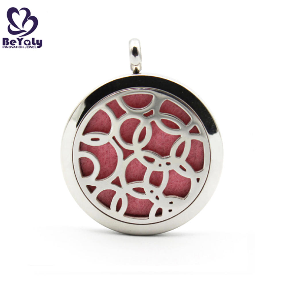 925 silver cz heart aromatherapy necklace diffuser pendant