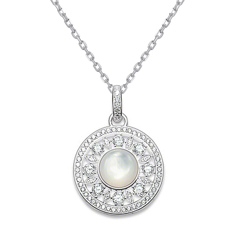 Exquisite Aquamarine Sterling Silver Wholesale Necklace Chains