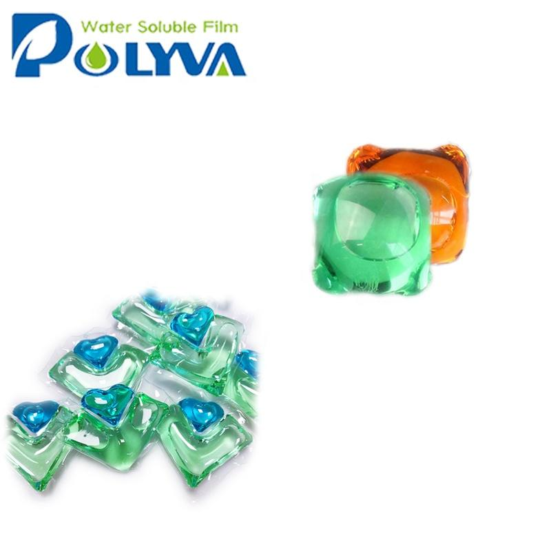 Polyva laundry detergent liquid washing pod