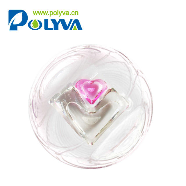 water soluble pod for washing clothes detergent laundry capsules liquidwholesale